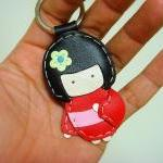 Sakura the Geisha Doll leat..